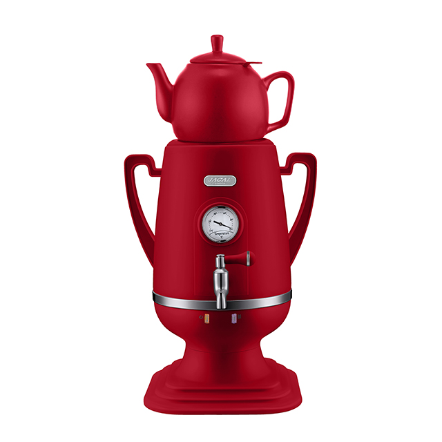 t19E red +TEA pot